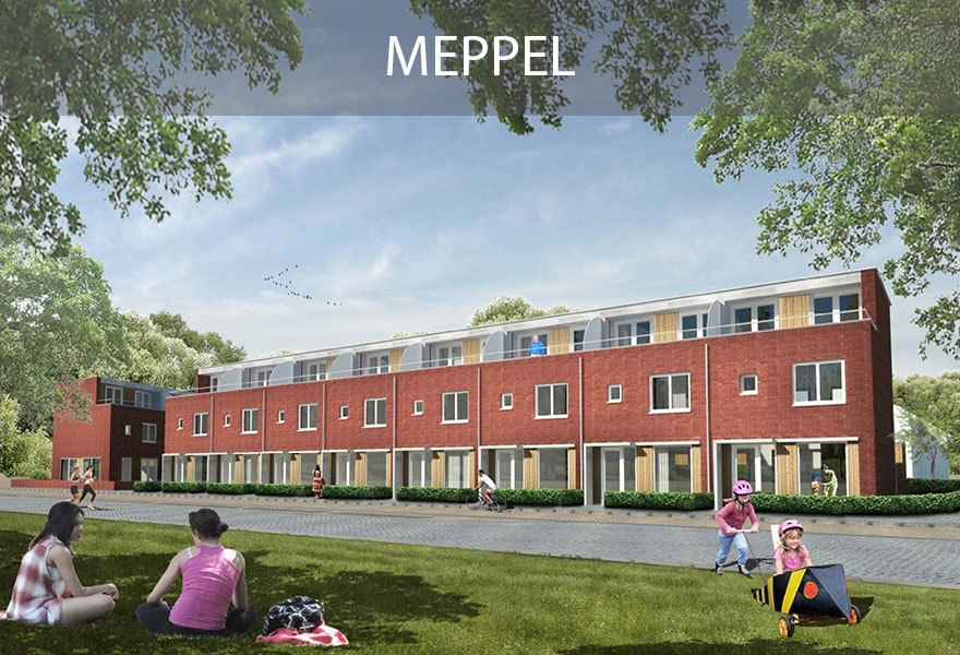Groenwoningen Fonds - woningen Meppel