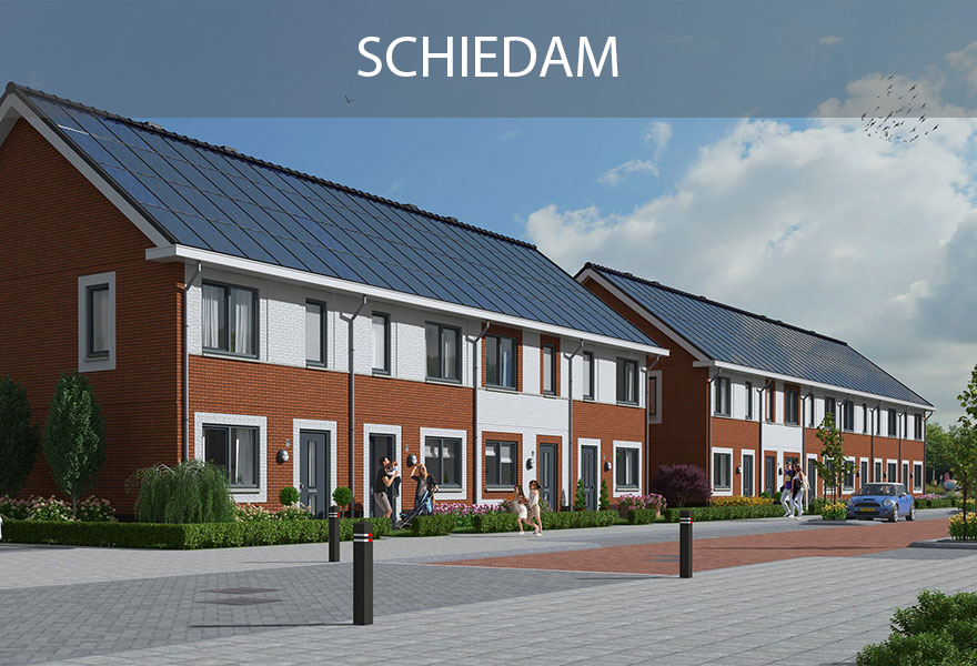 Groenwoningen Fonds - woningen Schiedam