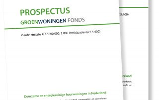 Groenwoningen Fonds prospectus