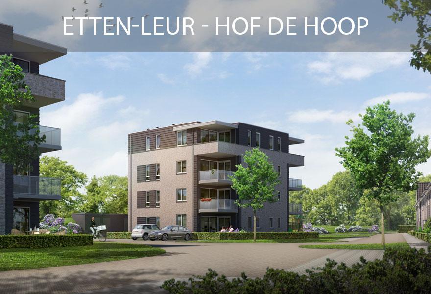 Huurwoningen Nederland Fonds - woningen Etten-Leur Hof de Hoop