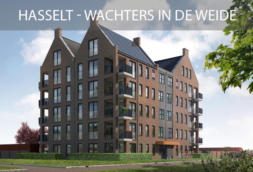 Huurwoningen Nederland Fonds 2 - woningen Hasselt Wachters in de Weide
