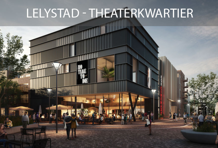 Huurwoningen Nederland Fonds 2 - woningen Lelystad Theaterkwartier