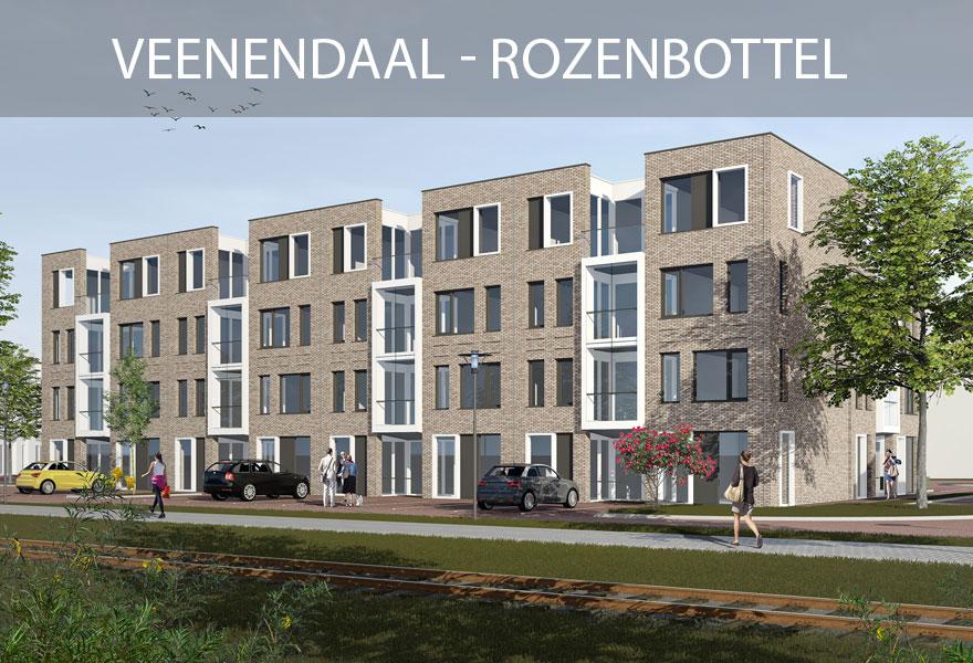 Huurwoningen Nederland Fonds - woningen Veenendaal Rozenbottel